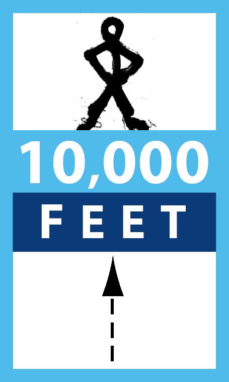 10,000 Feet logo