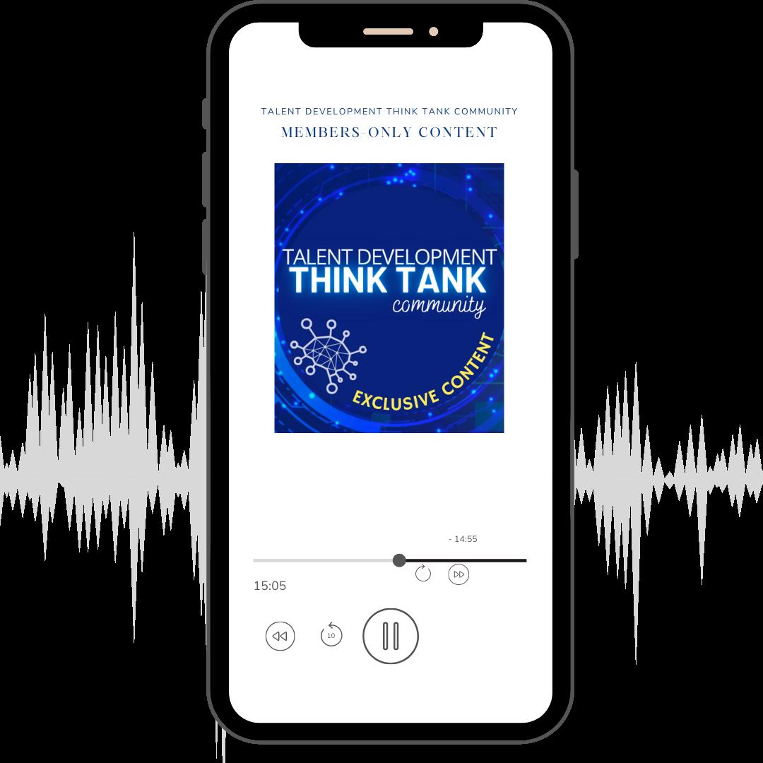 Talent development think tank community